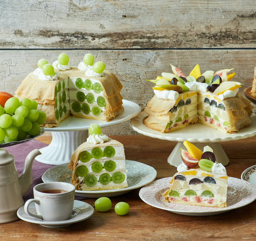 Afternoon Tea LOVE&TABLE 秋季限定ホームメイドミルクレープ