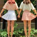 お手本にしたい!可愛すぎる「双子コーデ」で夏のイベントは完璧♡