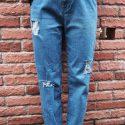 ダメージジーンズの簡単な作り方!ダサくならずにおしゃれにデニムをリメイクする方法