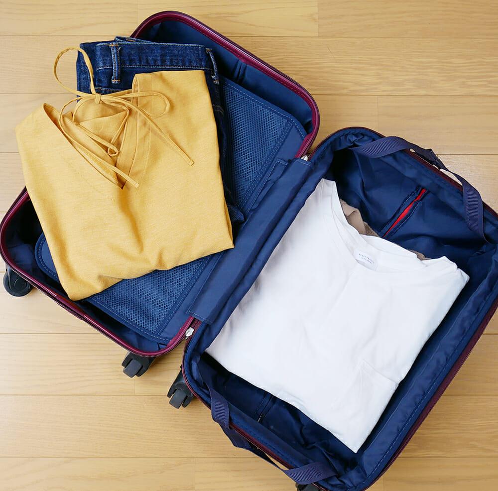 旅行時に役立つ!洋服がシワにならない荷造り・パッキングのコツとは?