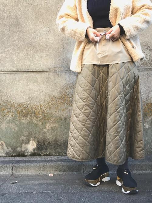 RBS キルティングスカート