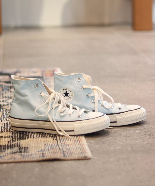 CONVERSE ALL STAR FOODTEXTILE HIのブルー