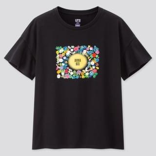 ユニクロとアナスイのコラボTシャツ