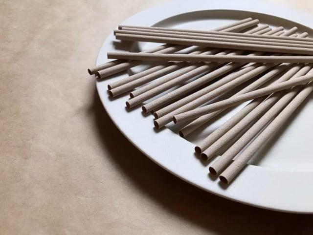 無印良品の竹材ストロー全体