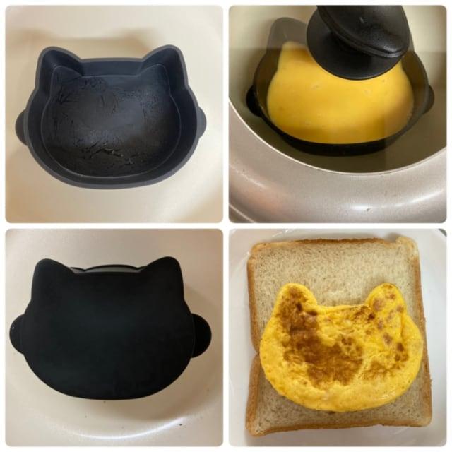 ねこ食パンの簡単な作り方です。