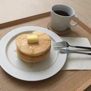 無印良品の米粉のパンケーキおやつ