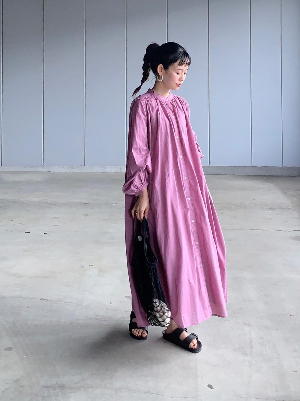 アーバンリサーチ紫ワンピース