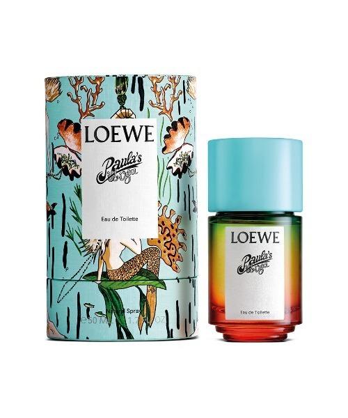 LOEWEのパウラズイビサパフュームオードトワレ、内容量は50ml