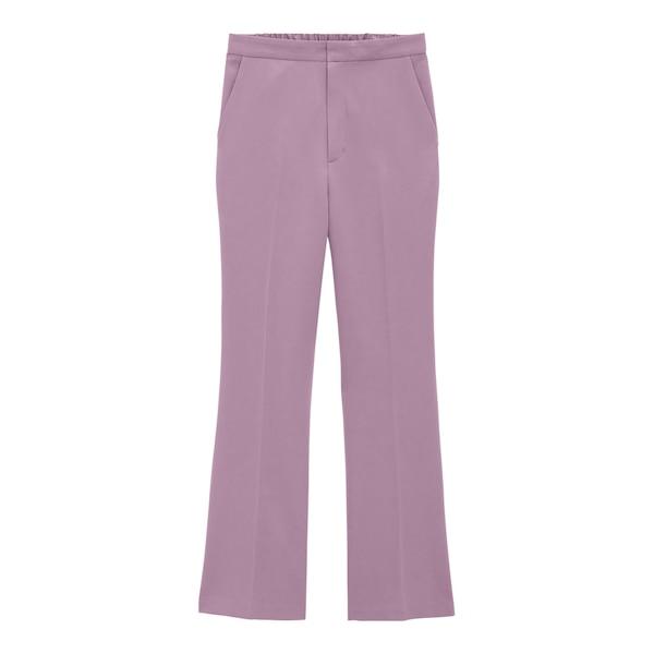 GU紫パンツ