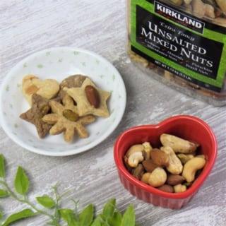 コストコのミックスナッツの使用例