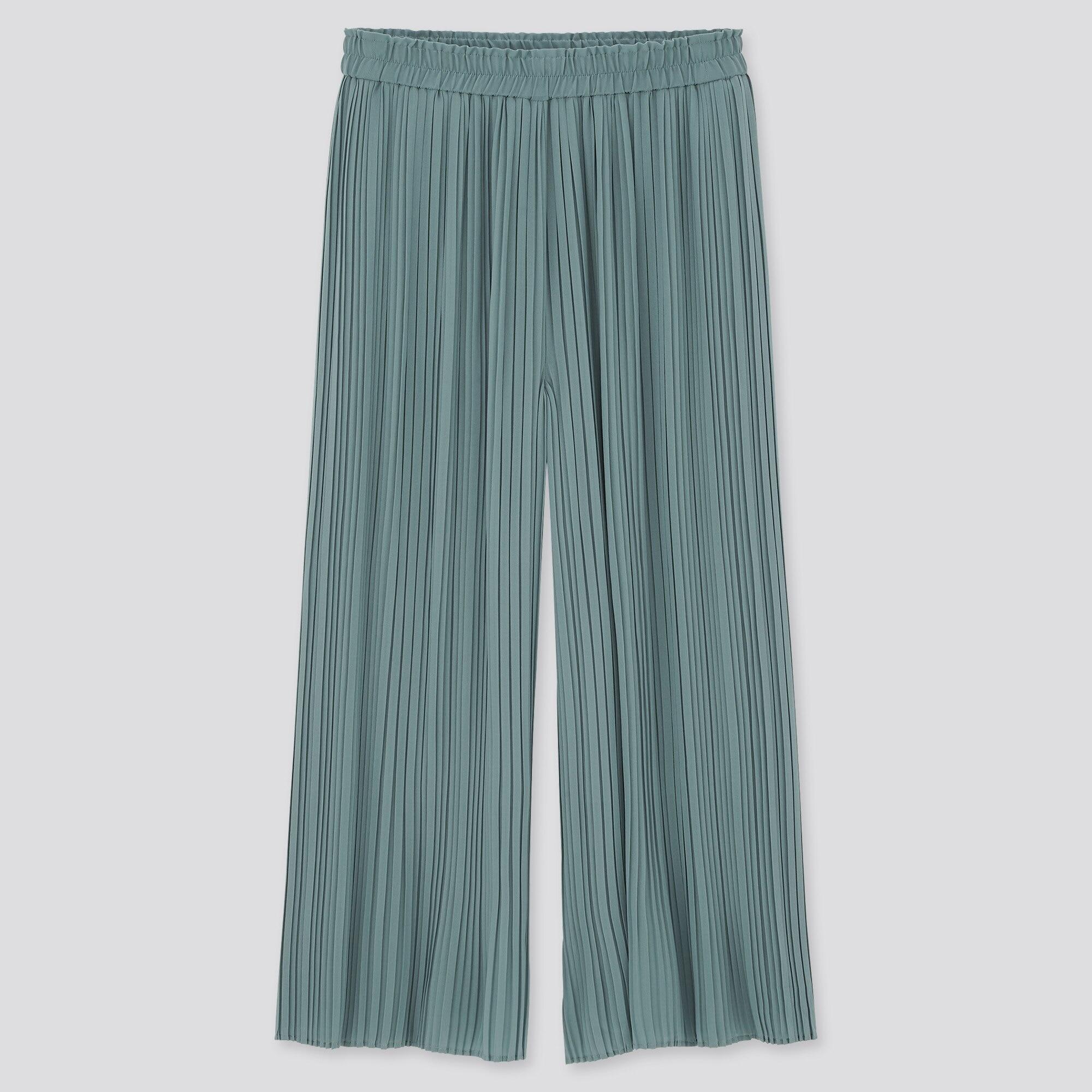 シフォンプリーツスカートパンツ