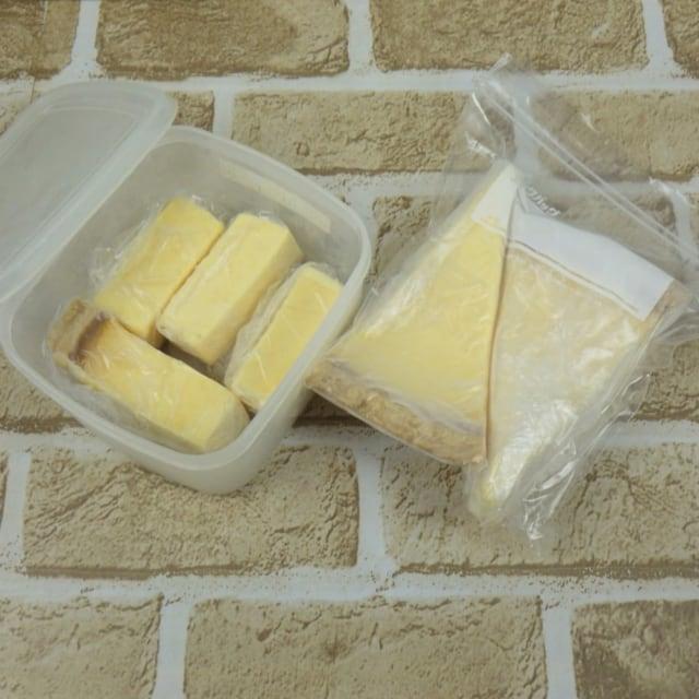 コストコ トリプルチーズタルトの冷凍保存方法