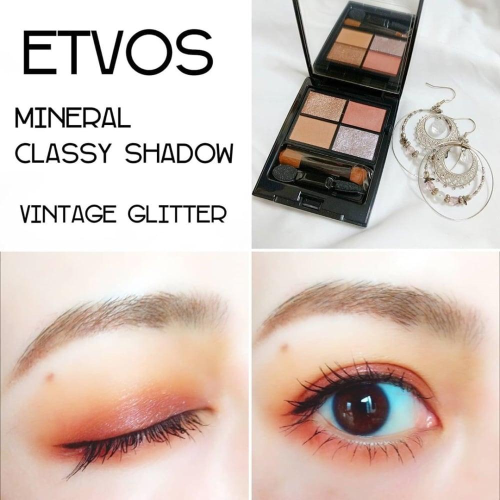 ETVOSミネラルクラッシィシャドーヴィンテージグリッター