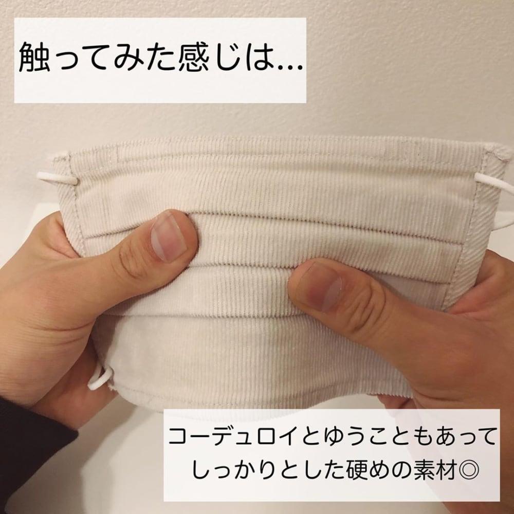 「繰り返し使える2枚組・マスク