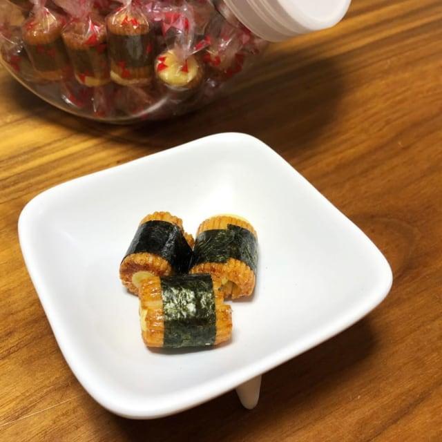 コストコのおつまみチーズ海苔巻き