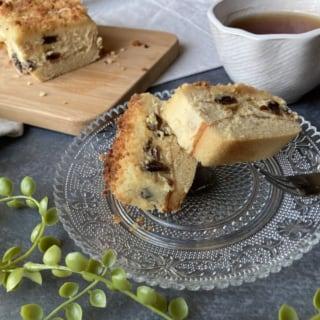 器に盛った成城石井のプレミアムチーズケーキ