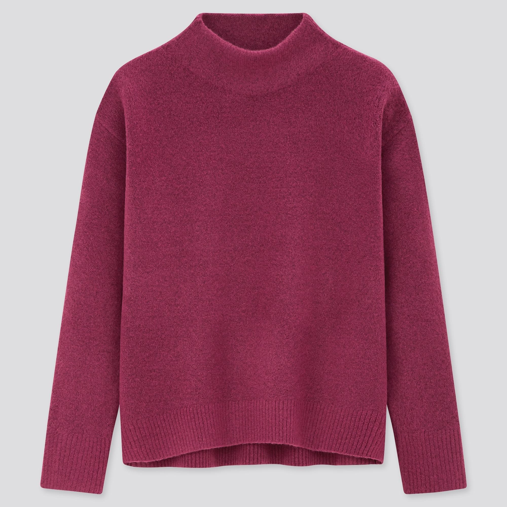 スフレヤーンハイネックセーター