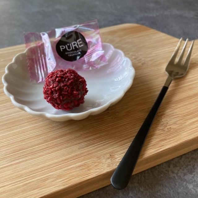 成城石井のピュア社トリュフアソートチーズケーキ味