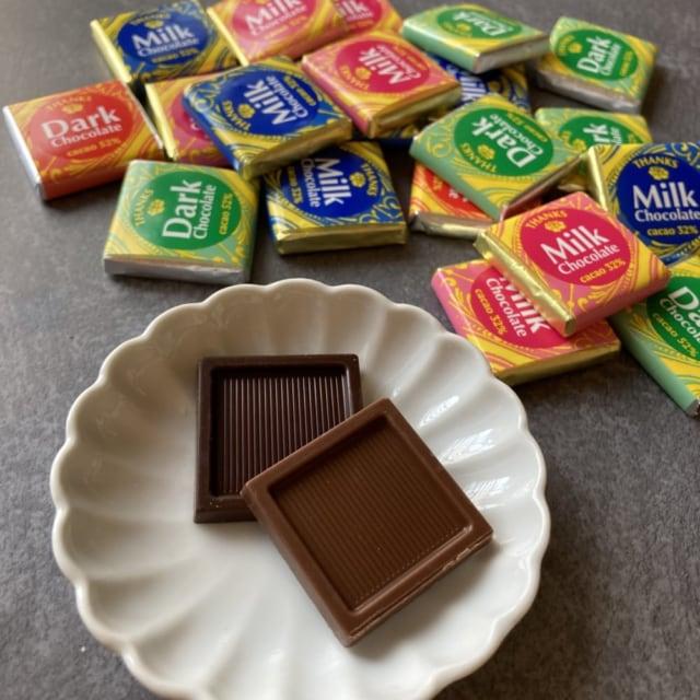 袋から出した成城石井のナポリタンチョコレート