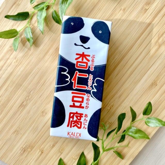 カルディのおすすめなパンダ杏仁豆腐パッケージ