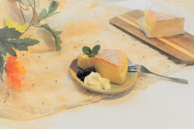 成城石井「スフレチーズケーキ」アレンジと普通のケーキ