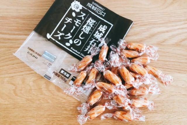 成城石井 桜燻しのスモークチーズ 22個入り