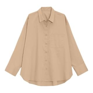 オーバーサイズロングシャツ