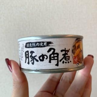 カルディ 角煮缶詰パッケージ