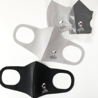 スヌーピー女性・子供用ファッションマスク2P