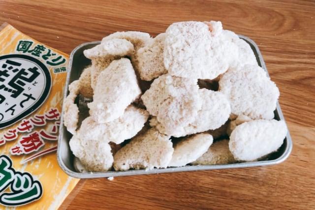 業務スーパー 鶏屋さんの冷凍チキンカツ 中身