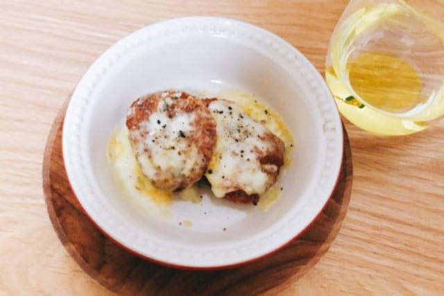 業務スーパー 鶏屋さんの冷凍チキンカツ チーズ焼き