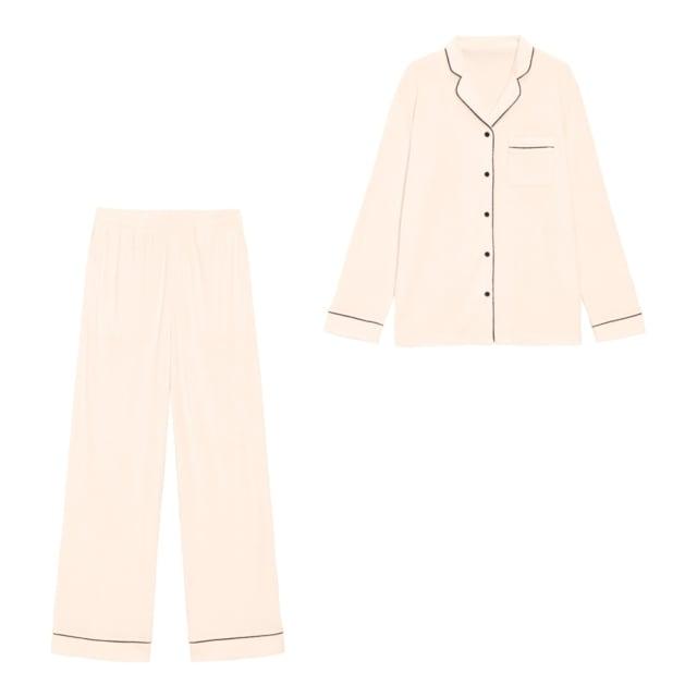 GUの白のジンジャーパジャマ