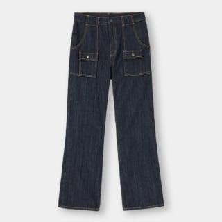 GUのパッチポケットジーンズ