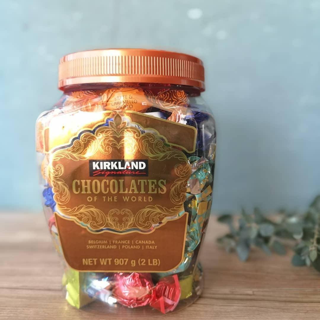 コストコのチョコレートオブザ・ワールドのパッケージ写真