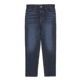インディゴカラーのジーンズ