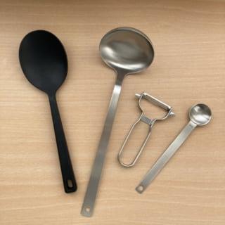 無印良品の調理器具で日々の料理もストレスフリーです。