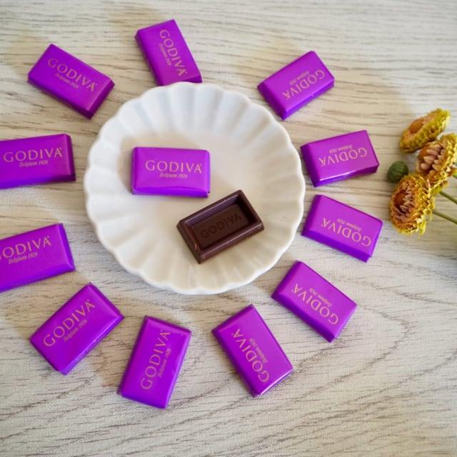 コストコゴディバナポリタンのダークチョコレート