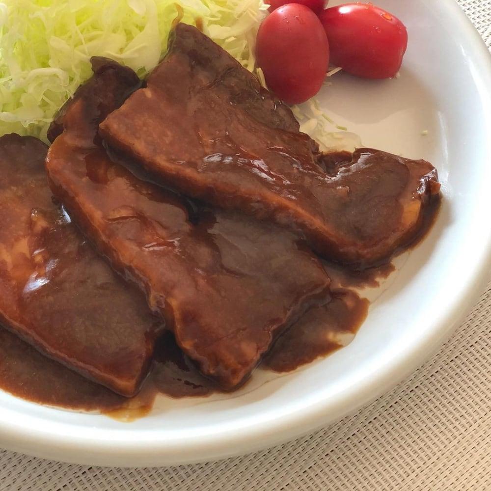 コストコ豚肉の味噌煮