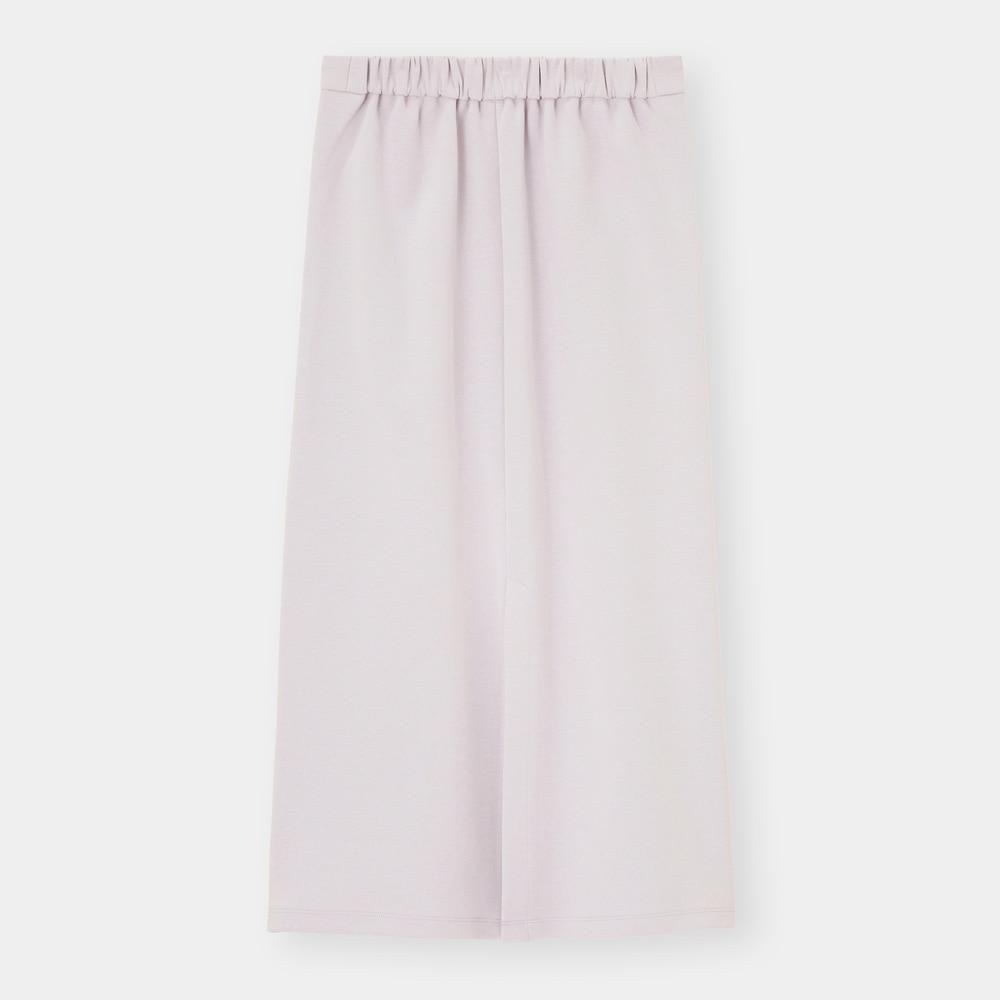 GUのダブルフェイスナロースカートの写真