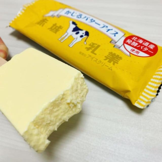赤城乳業のかじるバターアイス