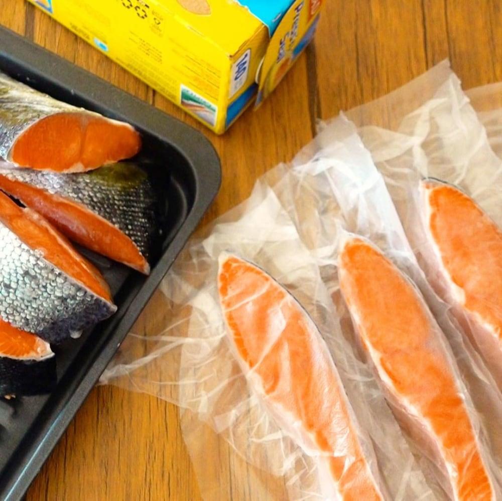 チリ産定塩銀鮭フィレ