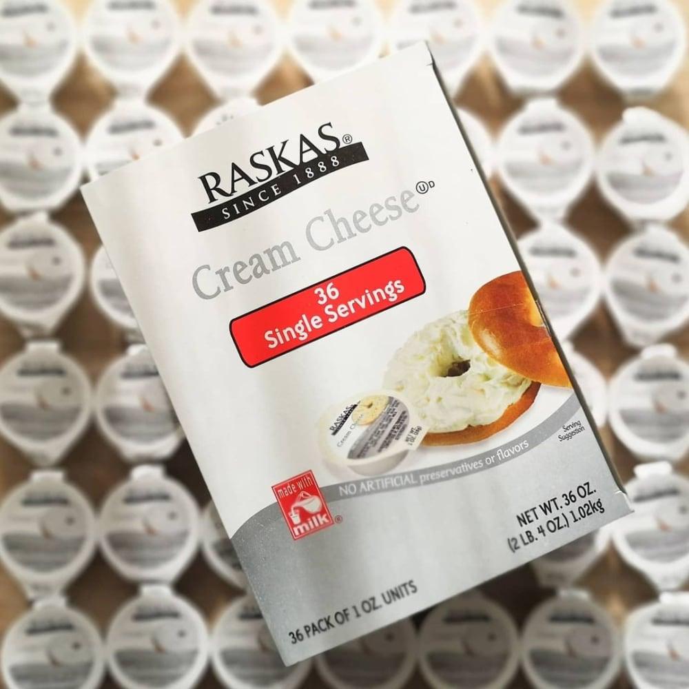 コストコのクリームチーズのパッケージ写真