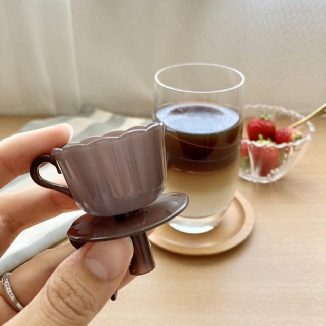 おうちカフェが楽しくなるツートンドリンクメーカー。