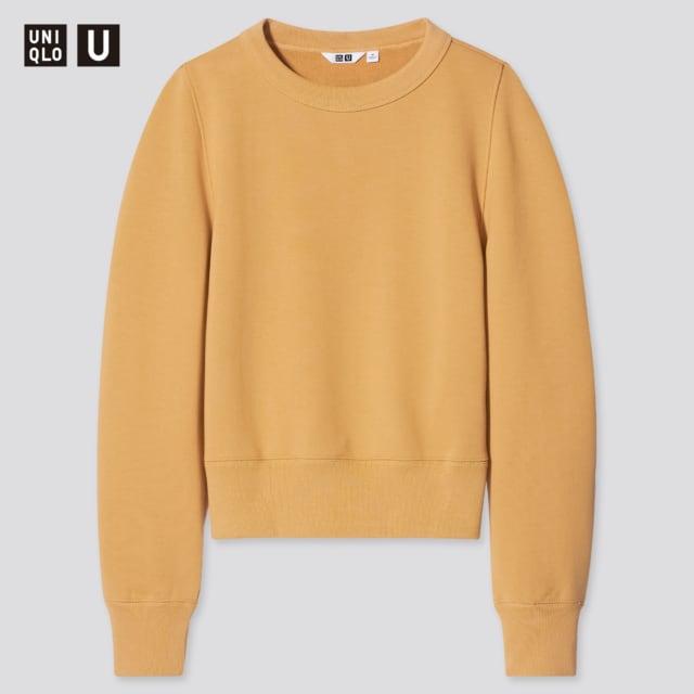 ユニクロのスウェットクルーネックシャツ