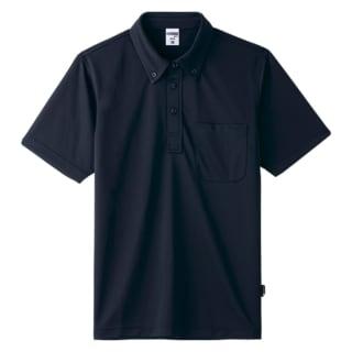 ボタンダウンドライポロシャツ