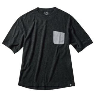 ワークマンのメリノウールミックスワッフル半袖Tシャツの写真
