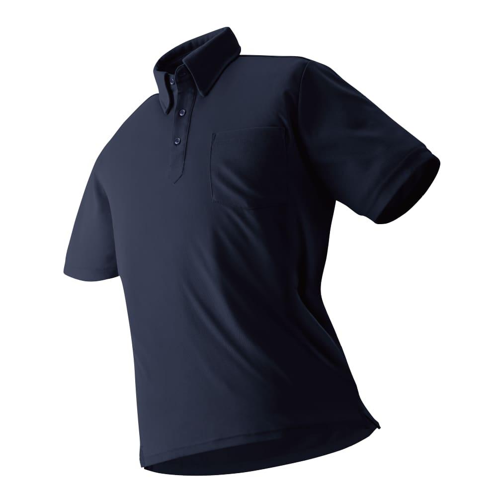 ワークマンの放熱冷感半袖ポロシャツの写真