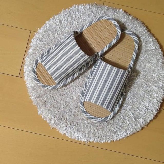 3COINSの竹スリッパ