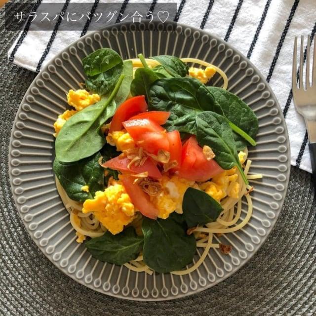 コストコの玉ねぎドレッシングを使ったサラダの写真
