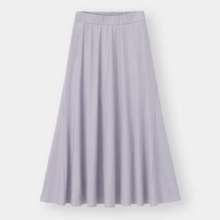 GUのリブイージーフレアスカート